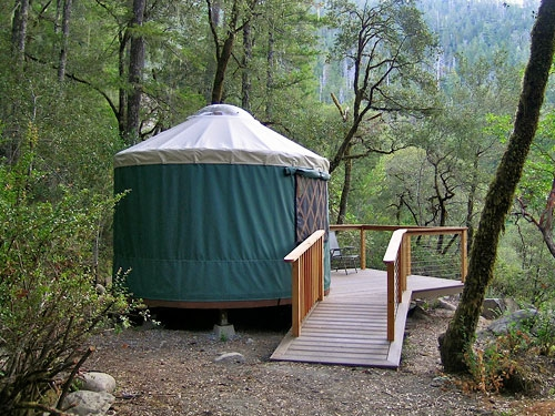 The yurt is a favorite!
